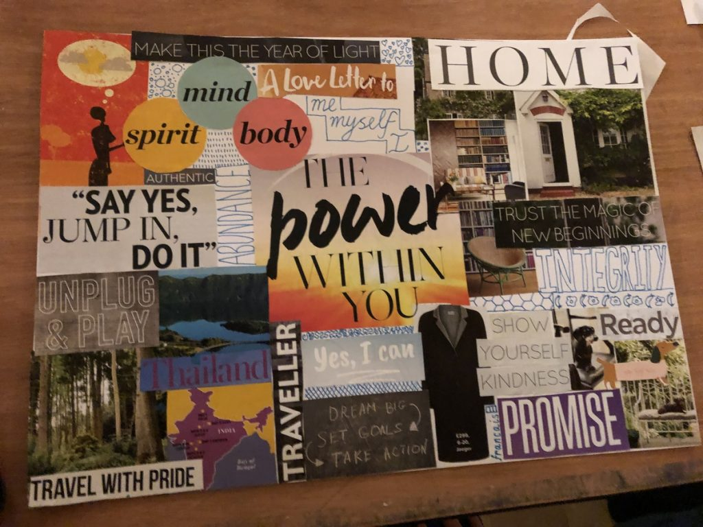 Ignite Your 2020 Vision Board Workshop